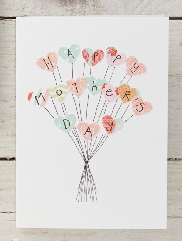 handmade-Mothers-Day-card-56 81+ Easy & Fascinating Handmade Mother's Day Card Ideas