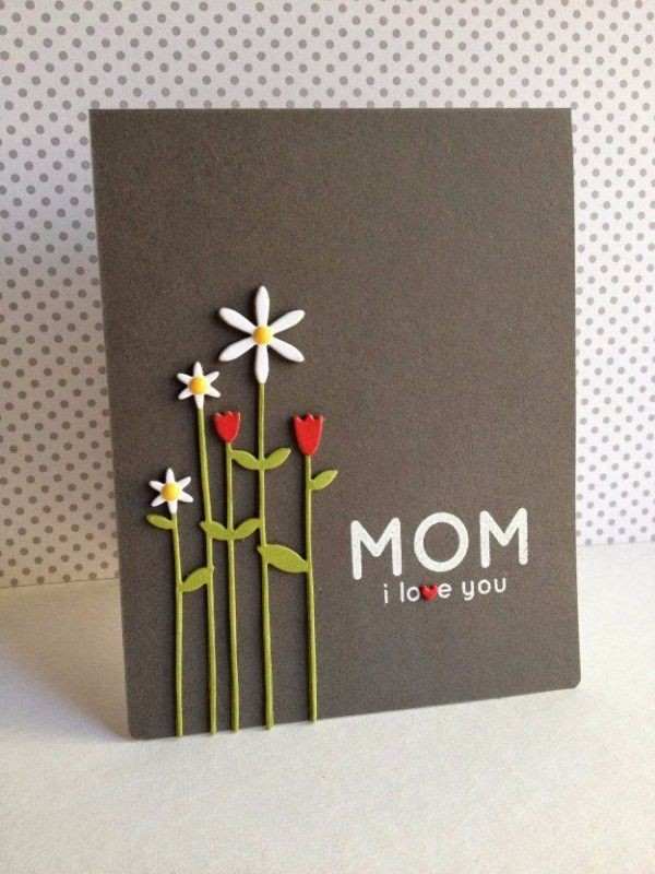 handmade-Mothers-Day-card-58 81+ Easy & Fascinating Handmade Mother's Day Card Ideas
