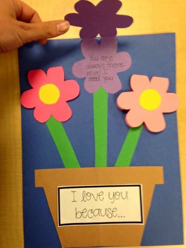handmade-Mothers-Day-card-61 81+ Easy & Fascinating Handmade Mother's Day Card Ideas