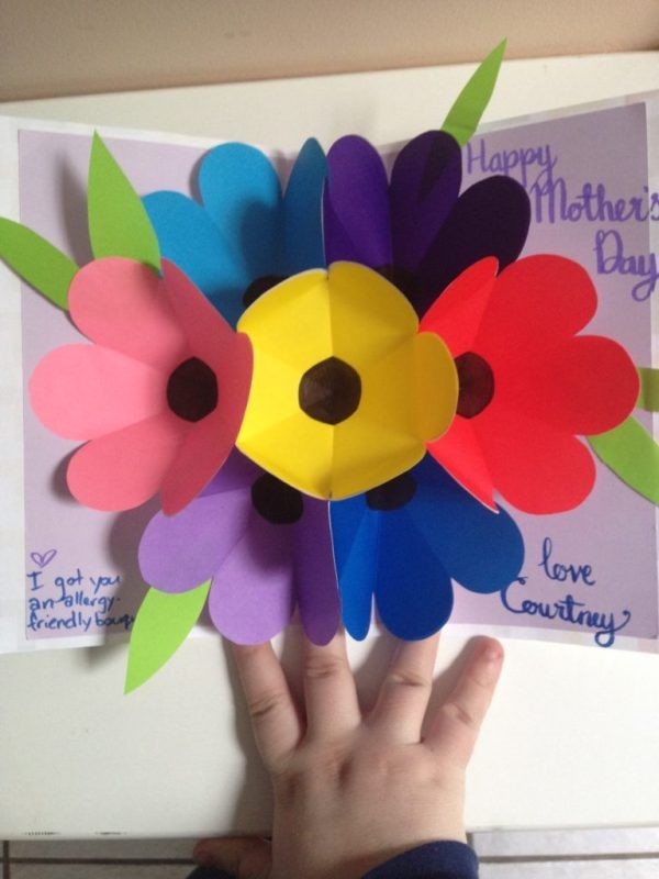 handmade-Mothers-Day-card-63 81+ Easy & Fascinating Handmade Mother's Day Card Ideas
