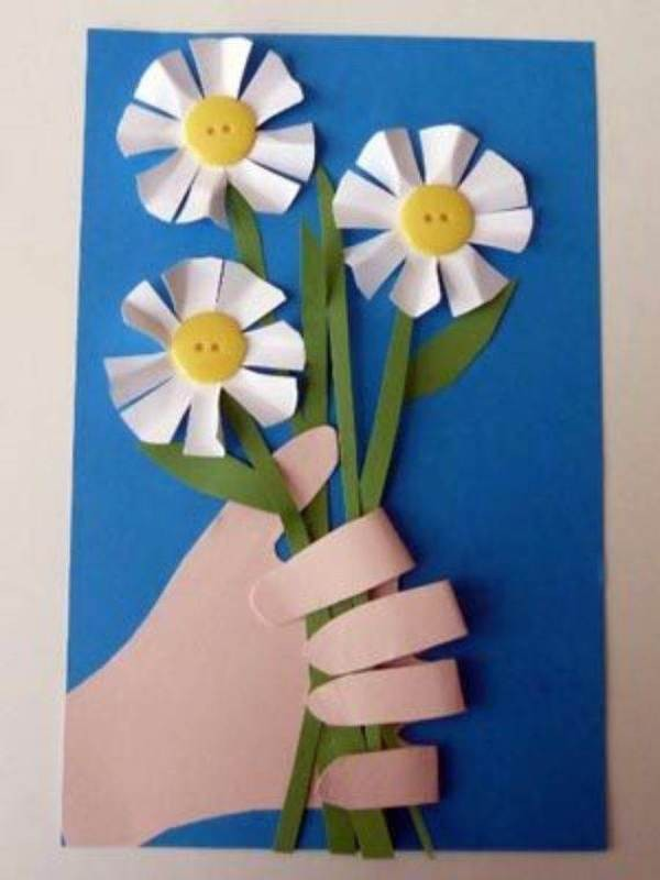 handmade-Mothers-Day-card-65 81+ Easy & Fascinating Handmade Mother's Day Card Ideas