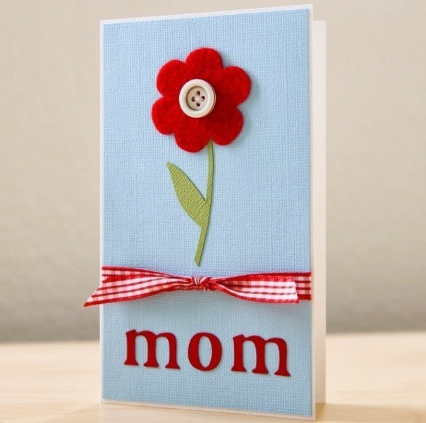 handmade-Mothers-Day-card-67 81+ Easy & Fascinating Handmade Mother's Day Card Ideas