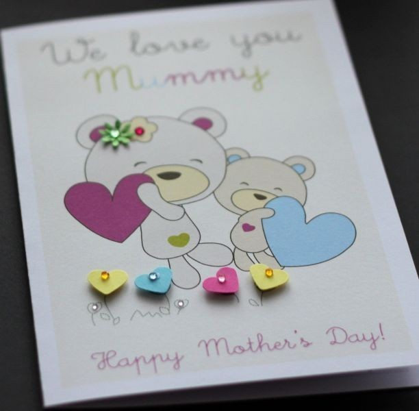 handmade-Mothers-Day-card-69 81+ Easy & Fascinating Handmade Mother's Day Card Ideas