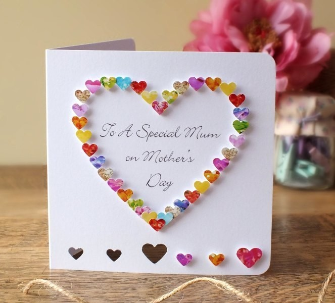 handmade-Mothers-Day-card-74 81+ Easy & Fascinating Handmade Mother's Day Card Ideas