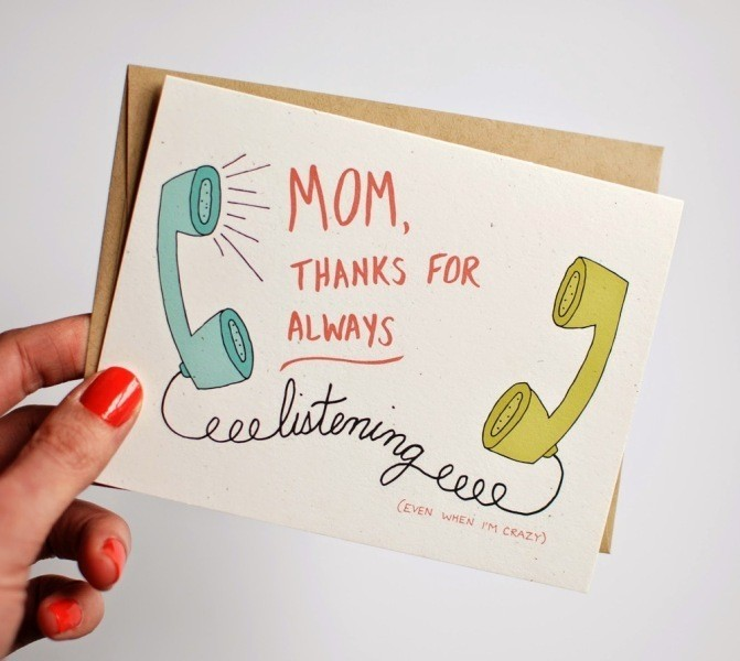 handmade-Mothers-Day-card-75 81+ Easy & Fascinating Handmade Mother's Day Card Ideas