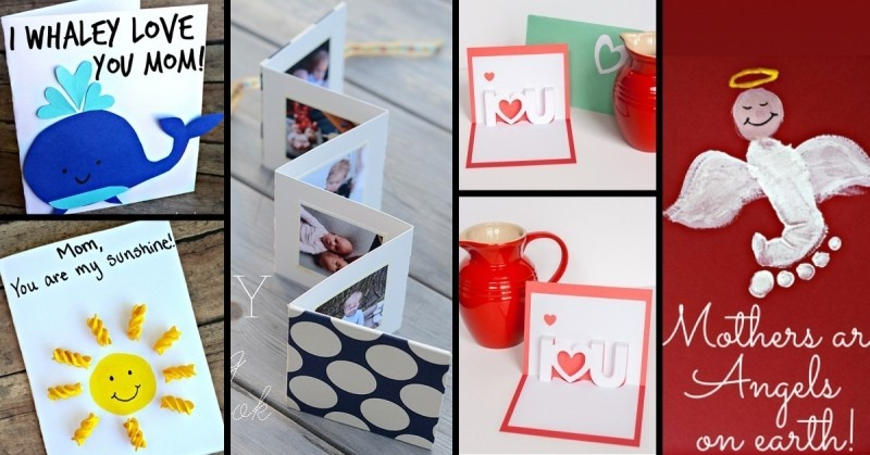 handmade-Mothers-Day-card-84 81+ Easy & Fascinating Handmade Mother's Day Card Ideas