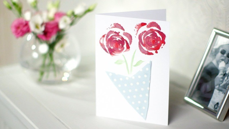 handmade-Mothers-Day-card-85 81+ Easy & Fascinating Handmade Mother's Day Card Ideas