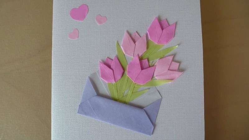 handmade-Mothers-Day-card-86 81+ Easy & Fascinating Handmade Mother's Day Card Ideas