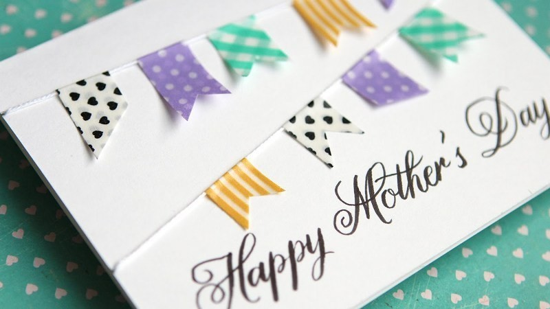 handmade-Mothers-Day-card-88 81+ Easy & Fascinating Handmade Mother's Day Card Ideas