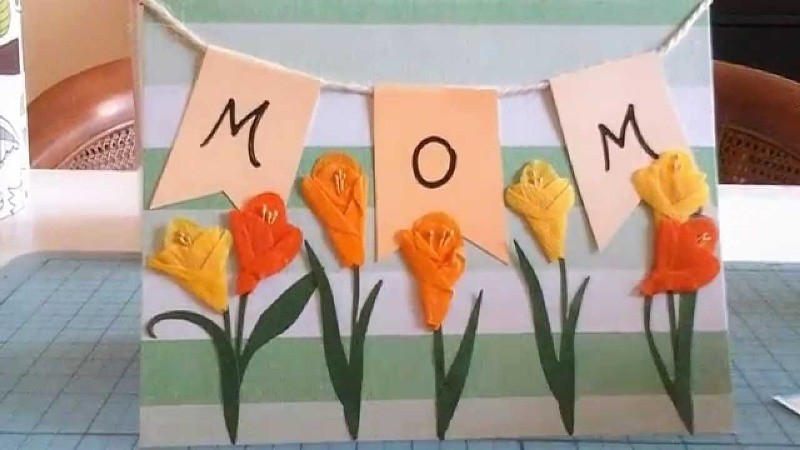 handmade-Mothers-Day-card-89 81+ Easy & Fascinating Handmade Mother's Day Card Ideas