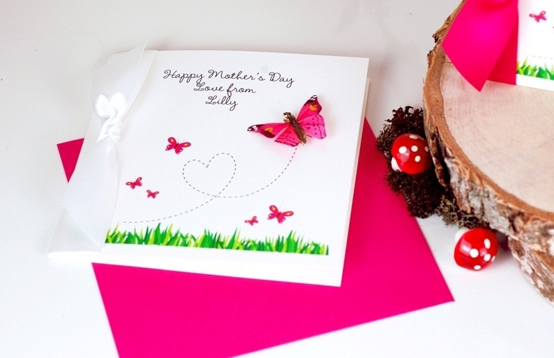 handmade-Mothers-Day-card-92 81+ Easy & Fascinating Handmade Mother's Day Card Ideas