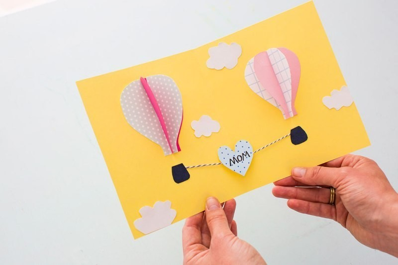 handmade-Mothers-Day-card-93 81+ Easy & Fascinating Handmade Mother's Day Card Ideas