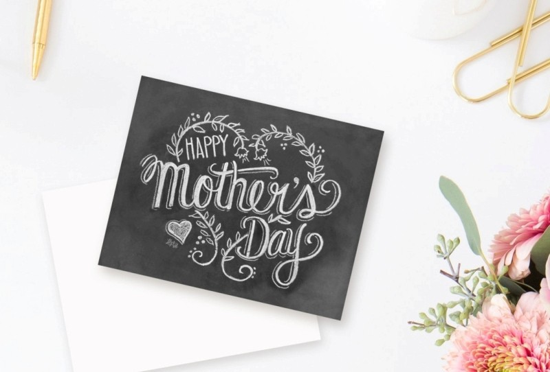handmade-Mothers-Day-card-97 81+ Easy & Fascinating Handmade Mother's Day Card Ideas