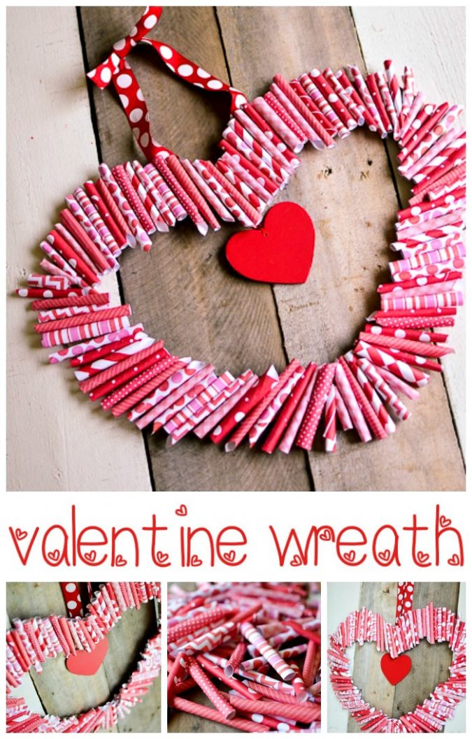 heart-wreath-675x1057 6 Hottest Decor Ideas for a Romantic Home in 2018