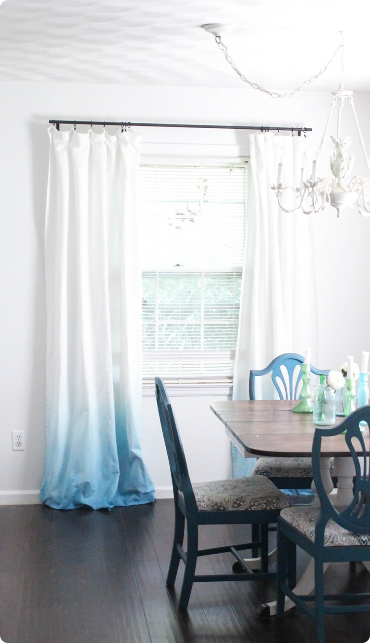 how-to-make-blue-ombre-curtains_thumb 20+ Hottest Curtain Design Ideas for 2021