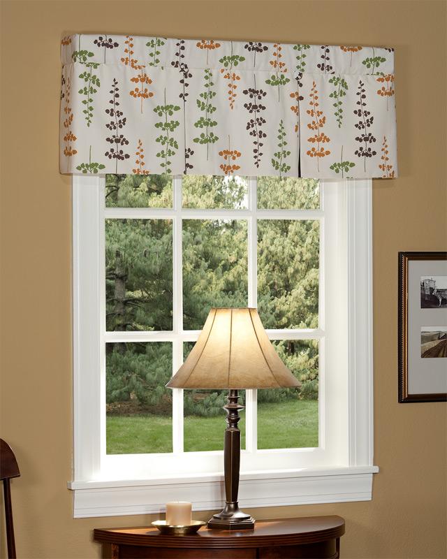 lacette-box-pleat-valance-14 20+ Hottest Curtain Design Ideas for 2021