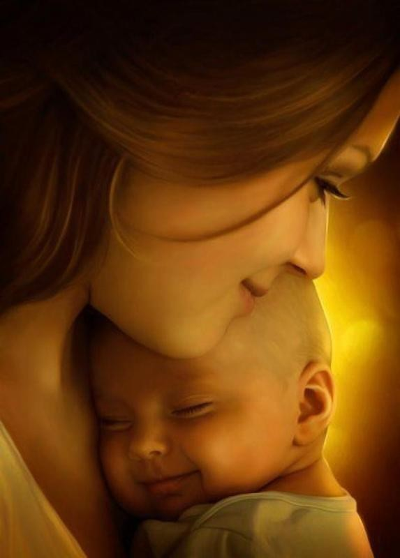 motherhood-1 78+ Heart-touching Photos of Mothers and Their Babies