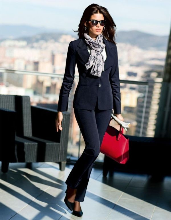 office-outfits-12-1 83+ Fall & Winter Office Outfit Ideas for Business Ladies 2020