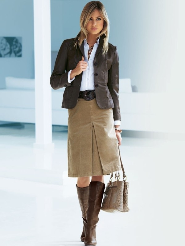 office-outfits-15-1 83+ Fall & Winter Office Outfit Ideas for Business Ladies 2020