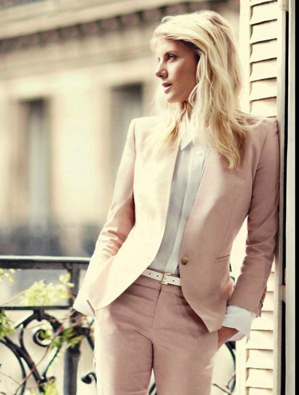 pantsuits-9-1 87+ Spring and Summer Office Outfit Ideas for Business Ladies 2019