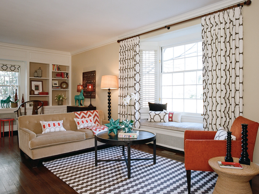 pattern-curtains-home 20+ Hottest Curtain Design Ideas for 2021