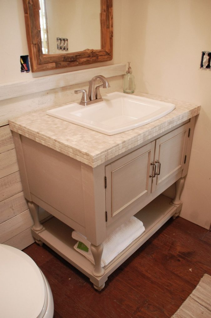 pottary-vanity-675x1015 15 Ideas to DIY Your Stylish Bedroom & Bathroom Vanities