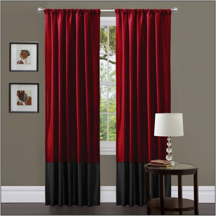 red-and-gold-striped-curtains-700x700 20+ Hottest Curtain Designs for 2019