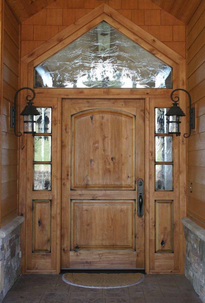 rustic-door-675x997 11 Charming Rustic Home Decors & Living Sets Trends in 2020