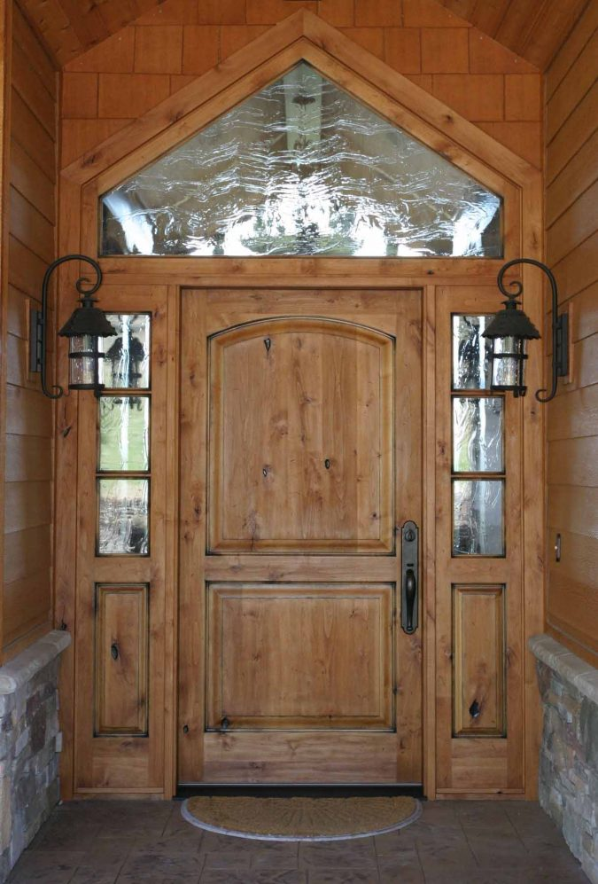 rustic-door-675x997 11 Charming Rustic Home Decors & Living Sets Trends in 2020