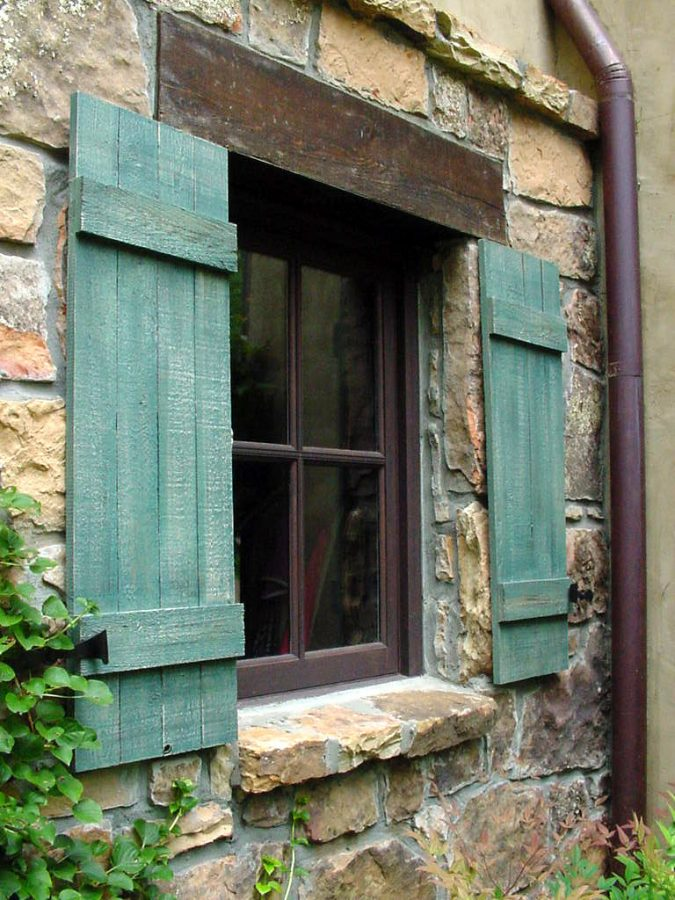 rustic-shutters-675x900 11 Charming Rustic Home Decors & Living Sets Trends in 2020