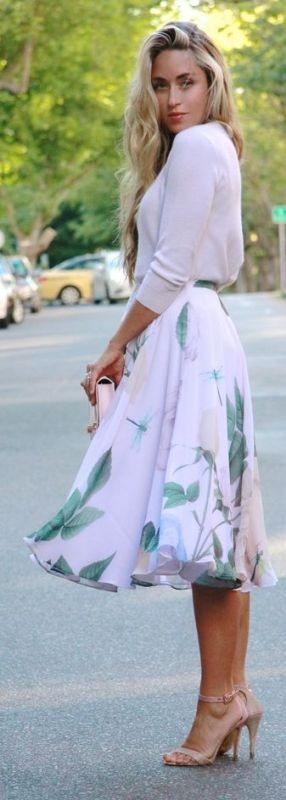 skirts-for-work-1-1 87+ Spring & Summer Office Outfit Ideas for Business Ladies 2017