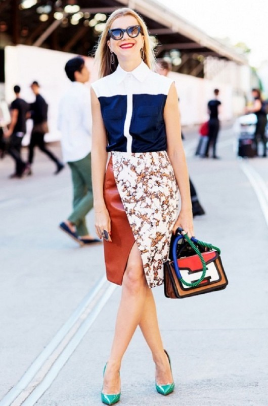 skirts-for-work-13-1 87+ Spring and Summer Office Outfit Ideas for Business Ladies 2019