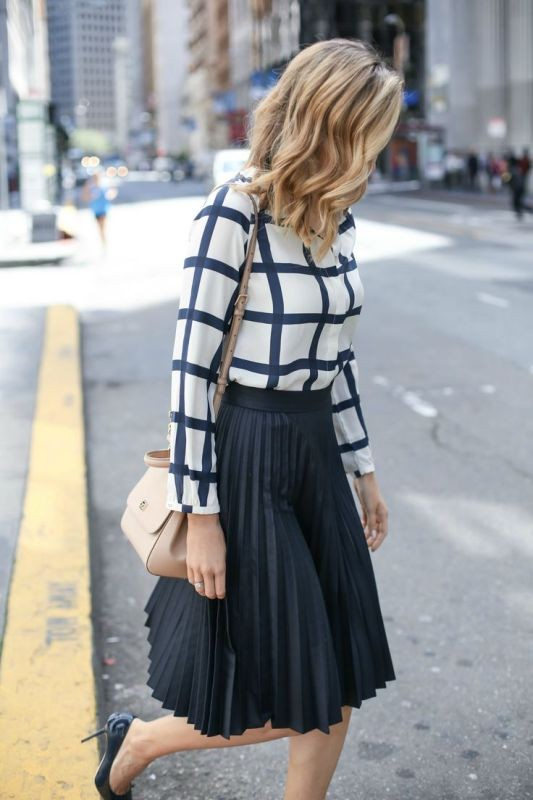 skirts-for-work-15-1 87+ Spring & Summer Office Outfit Ideas for Business Ladies 2018