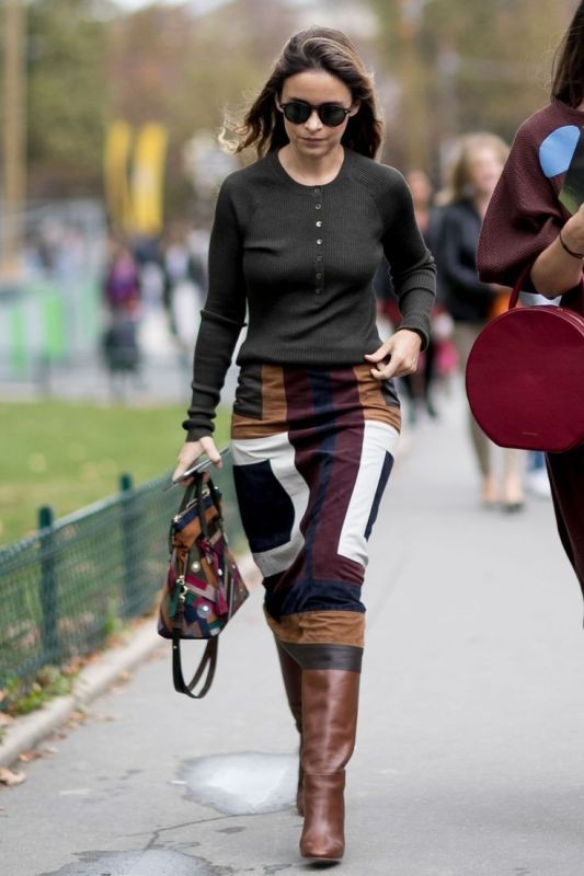 skirts-for-work-16-1 87+ Elegant Office Outfit Ideas for Business Ladies in 2021