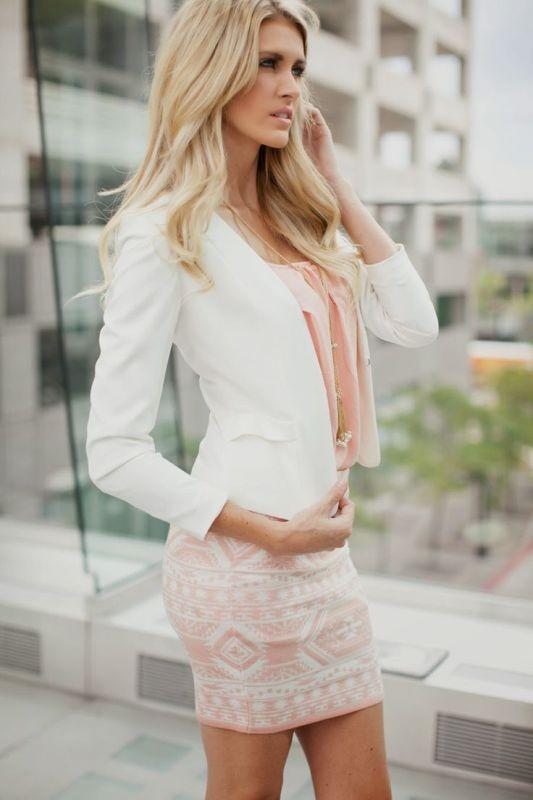 skirts-for-work-17-1 87+ Elegant Office Outfit Ideas for Business Ladies in 2021
