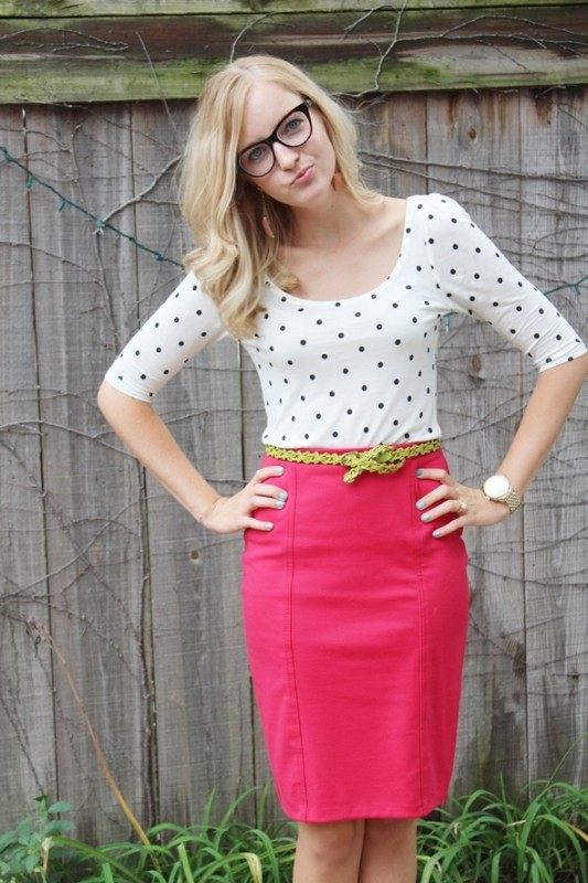 skirts-for-work-19-1 87+ Elegant Office Outfit Ideas for Business Ladies in 2020