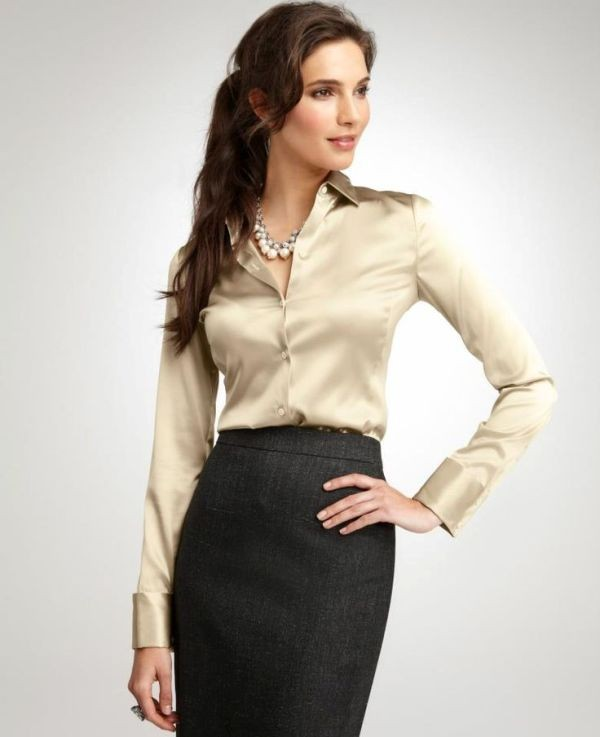skirts-for-work-28-1 87+ Elegant Office Outfit Ideas for Business Ladies in 2021