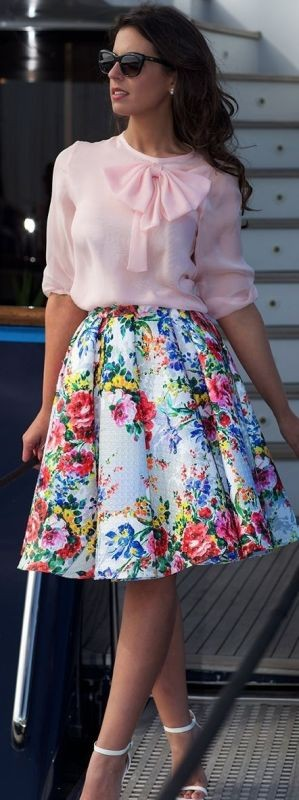 skirts-for-work-3-1 87+ Spring and Summer Office Outfit Ideas for Business Ladies 2019