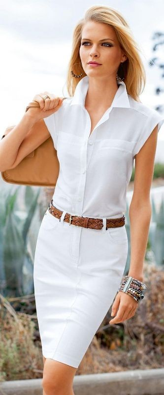 sleeveless-blouses-and-tank-tops-1-1 87+ Spring & Summer Office Outfit Ideas for Business Ladies 2017