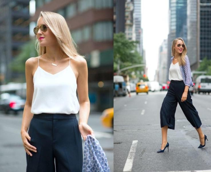 sleeveless-blouses-and-tank-tops-17-1 87+ Spring & Summer Office Outfit Ideas for Business Ladies 2017