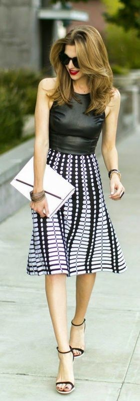 sleeveless-blouses-and-tank-tops-20 87+ Spring & Summer Office Outfit Ideas for Business Ladies 2017