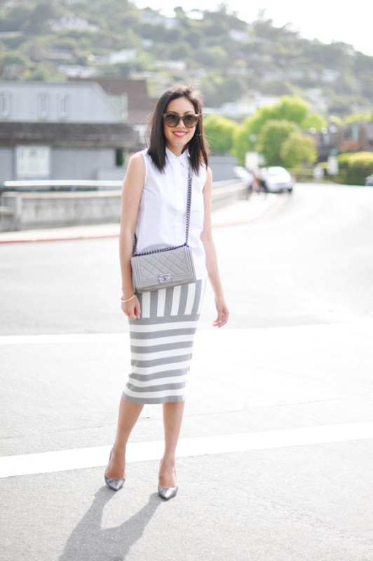 sleeveless-blouses-and-tank-tops-6-1 87+ Spring & Summer Office Outfit Ideas for Business Ladies 2018