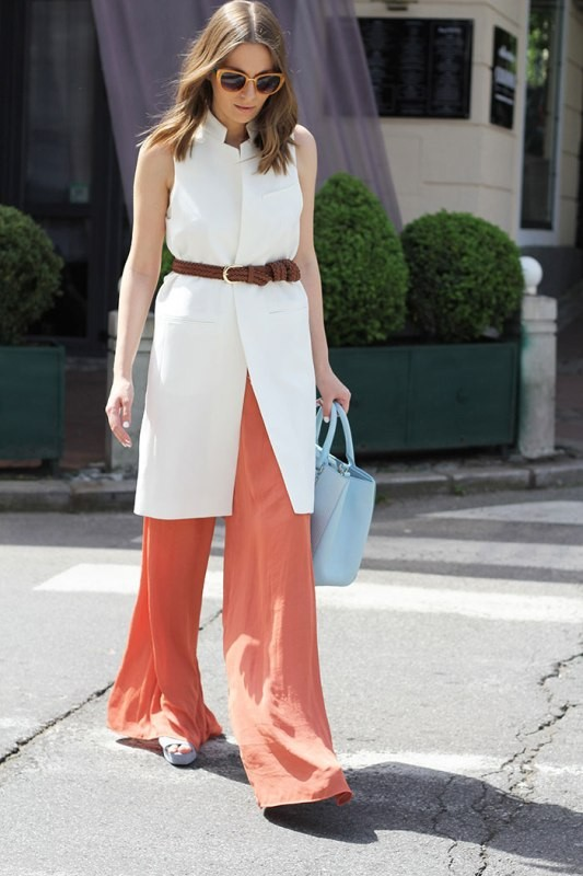 sleeveless-blouses-and-tank-tops-8-1 87+ Spring & Summer Office Outfit Ideas for Business Ladies 2017