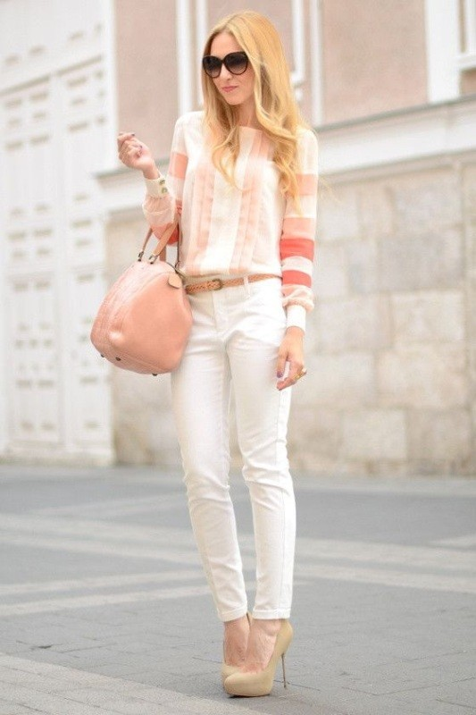 spring-and-summer-office-outfit-ideas-12-1 87+ Elegant Office Outfit Ideas for Business Ladies in 2020
