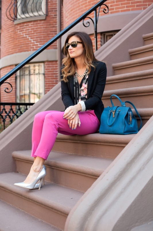 spring-and-summer-office-outfit-ideas-16-1 87+ Spring and Summer Office Outfit Ideas for Business Ladies 2019