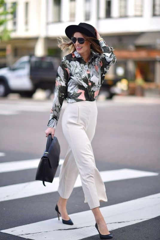 spring-and-summer-office-outfit-ideas-21-1 87+ Spring and Summer Office Outfit Ideas for Business Ladies 2019