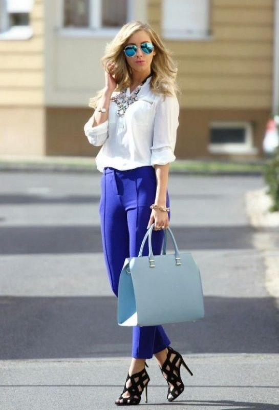 spring-and-summer-office-outfit-ideas-23-1 87+ Spring and Summer Office Outfit Ideas for Business Ladies 2019
