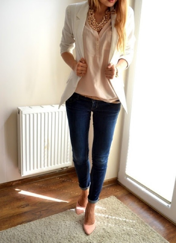 spring-and-summer-office-outfit-ideas-26-1 87+ Elegant Office Outfit Ideas for Business Ladies in 2021