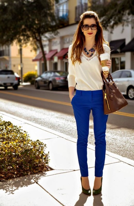 spring-and-summer-office-outfit-ideas-3-1 87+ Spring & Summer Office Outfit Ideas for Business Ladies 2017