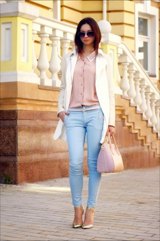 spring-and-summer-office-outfit-ideas-5-1 87+ Spring and Summer Office Outfit Ideas for Business Ladies 2019